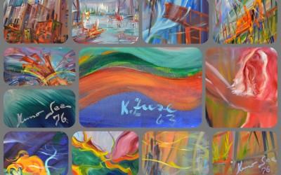 KONRAD ZUSE | Grosse Auswahl an Original Gemälden aus den Jahren 1963 – 1976