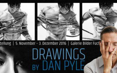 AUSSTELLUNG | Dan Pyle | Drawings | 05.11. – 03.12.2016