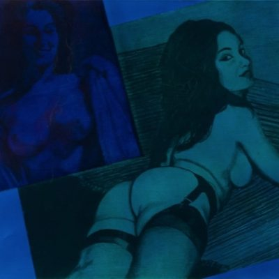 Gill, James - Lying Candy Girl ca. 50x75