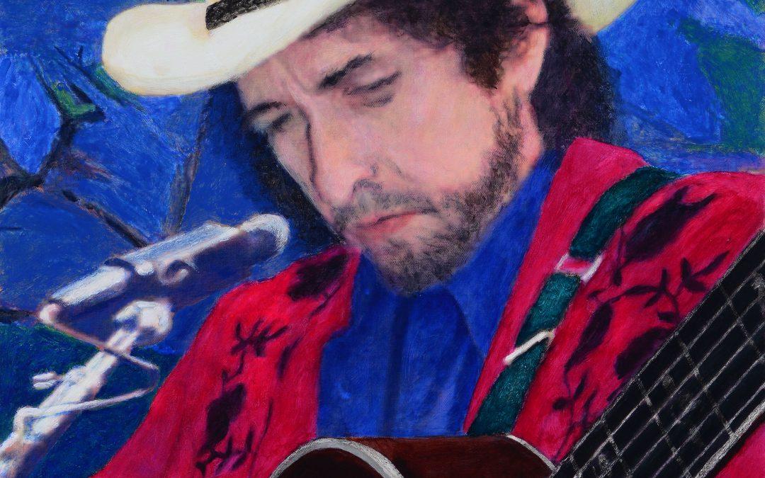 James Francis Gill | Bob Dylan | exklusive Präsentation in unserer Galerie