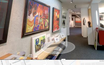 Virtueller Rundgang durch unsere Galerie am 15.11.2018