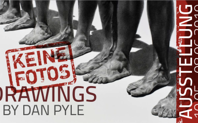 KEINE FOTOS – DRAWINGS by Dan Pyle | Ausstellung vom 10.05.0- 08.06.2019