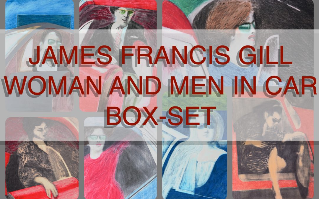 JAMES FRANCIS GILL | WOMAN AND MEN IN CAR BOX-SET