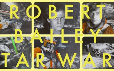 ROBERT BAILEY | STAR WARS ENDORSED ARTIST | original Zeichnungen | NEU